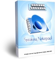 Speaking Notepad